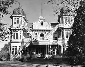 McLean's Mansion - Holly Lea, 1956.