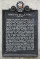 Honorata de la Rama (1902-1991) (North Cemetery) NHCP Historical Marker.png