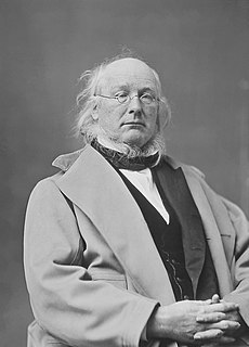 Horace Greeley American politician and publisher