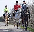 Horse riders near Bristol, England, in 2015 arp.jpg