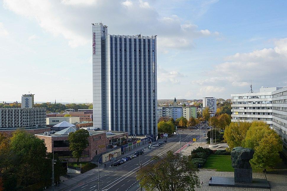 Hotel Mercure, Chemnitz, 2015