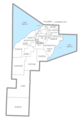Houghton County, MI census map.png