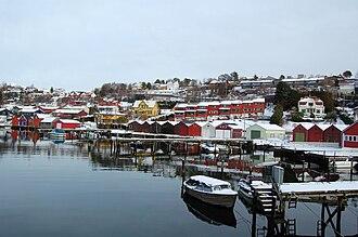Os, Hordaland - View of Osøyro