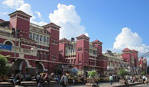 Howrah Junction railway station - Image: Howrah Station Terminal in 2011