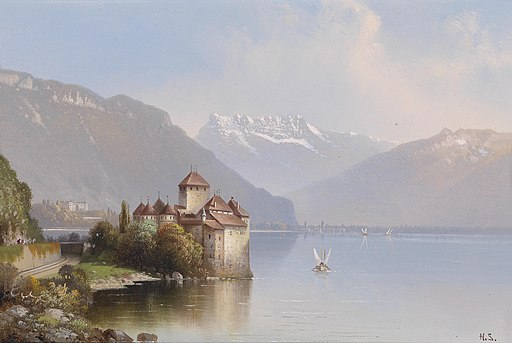Hubert Sattler Schloss Chillon