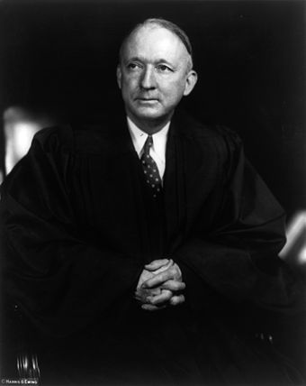 Supreme Court justice Hugo Black often endorsed the ACLU's position on the separation of church and state HugoLaFayetteBlack.jpg