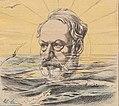 Hugo en exil dessin de Gill, publié dans l'éclipse.jpg