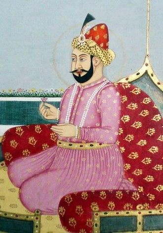 Mughal emperors - Image: Humayun of India