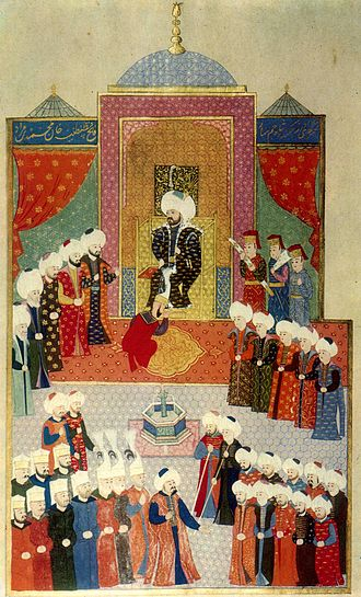 Mehmed the Conqueror - Accession of Mehmed II in Edirne, 1451