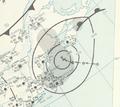 Hurricane Frances analysis 9 Oct 1961.png