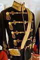 Hussar's attila (Hungarian jacket), Braunschweig Hussar Regiment Nr. 17, wool felt and braid, c. 1910 AD - Braunschweigisches Landesmuseum - DSC04878.JPG