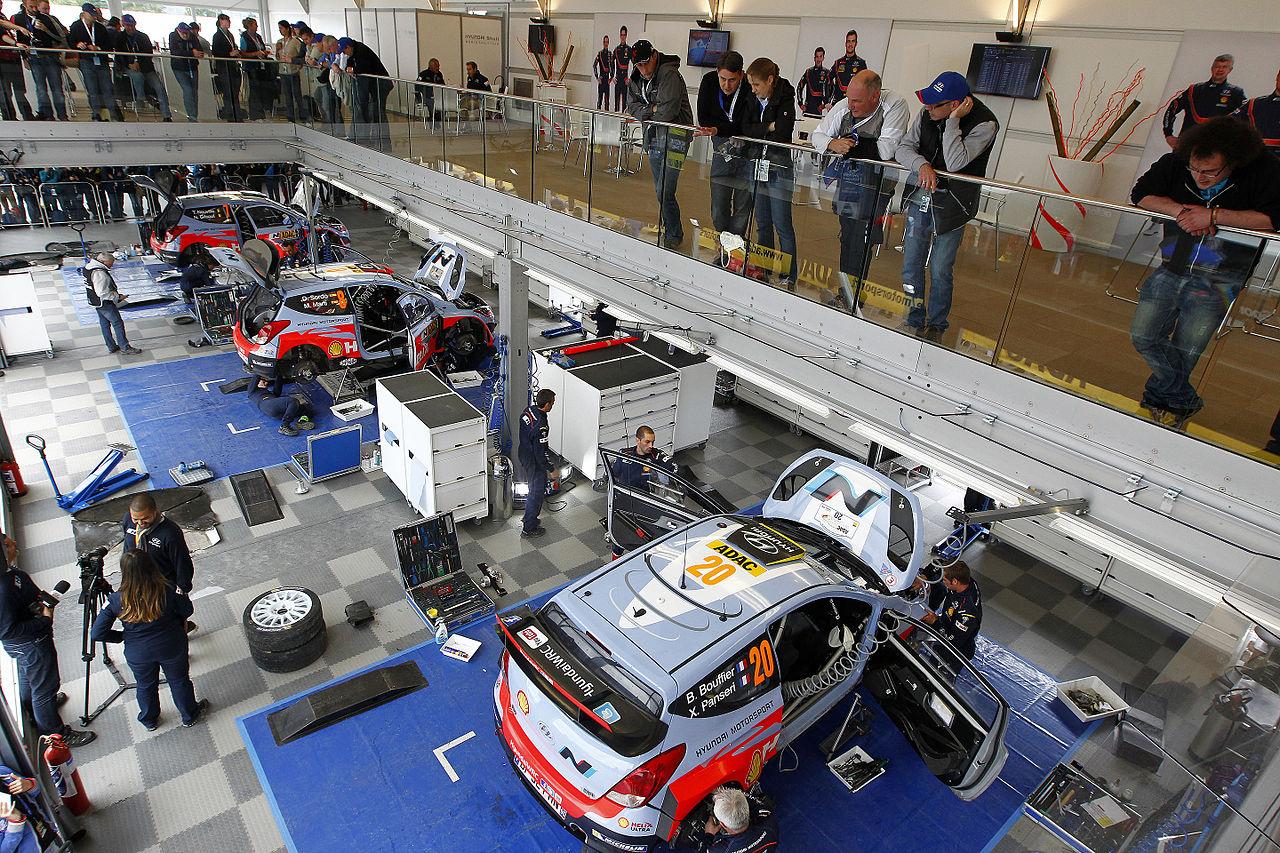 File Hyundai Motorsport Service Area Rally Germany 2014