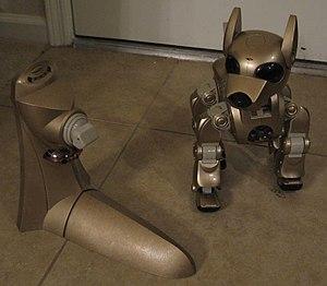 I-Cybie - i-Cybie with walk up charger.