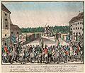 II. Lipót magyar királlyá koronázására 1790. november 15-én Pozsonyban.jpg