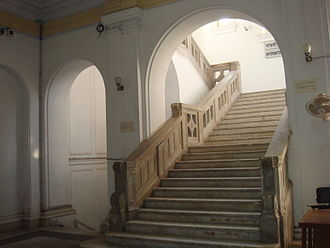 Old High Court Building, Dhaka - Interior staircase