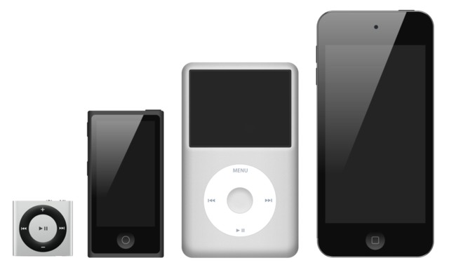 La Série des Apple iPod