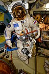 ISS-54 EVA-2 Orlan space suit No. 4.jpg