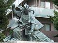 Ichikawa Danjuro Ⅸ Statue 03.JPG