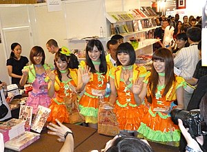 Idoling!!! - Idoling!!! Handshake session at Japan Expo 2012