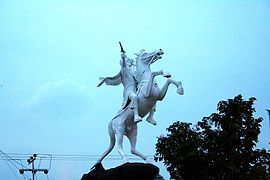 Imam Bonjol statue Bukittinggi.jpg
