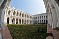Indian Museum Building with Quadrangle - Inside North-west View - Indian Museum - Kolkata 2014-02-14 3283.JPG