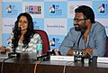 Indian Panorama film 'Thanga Meenkal' Director cum Actor Ram with Actress Shelly Kishore interacting with the Media, at the 44th India International Film Festival of India (IFFI-2013), in Panaji, Goa on November 27, 2013..jpg
