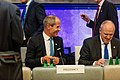 Informal meeting of economic and financial affairs ministers (ECOFIN). Round table Toomas Tõniste and Carsten Pillath (36843406400).jpg
