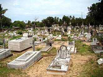 Inhambane - Old Portuguese cemetery today