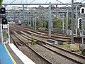 Inner West Line and Western Line from Lewisham Station Sydney.jpg