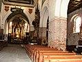 Inowrocław, kościół par. p.w. św. Mikołaja - wnętrze kościoła v.JPG