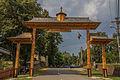 Intrarea in Mănăstirea Moldovița 04.jpg