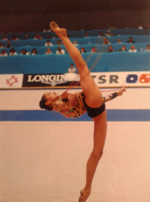 Irina Tchachina - Tchachina at the 2001 European Championships