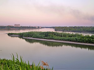Pavlodar Region - View of the Irtysh River