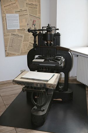 Charles Stanhope, 3rd Earl Stanhope - Stanhope press.