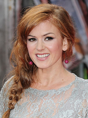 Isla Fisher - Fisher at the premiere of The Dictator in London, 2012