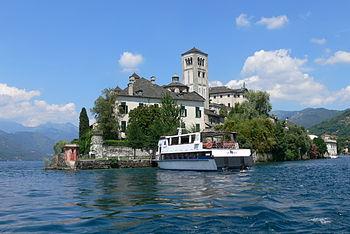 English: Orta - Isola San Giulio ( Piedmont )....