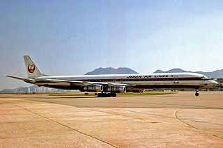 Japan Airlines Flight 350 Deliberate crash of a Douglas DC-8 on February 9, 1982