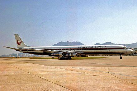 同型機のダグラス DC-8-61