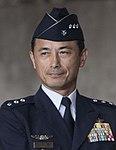 JASDF Lieutenant General Shigeki Muto 武藤茂樹空将 (US Air Force photo 170710-F-ZC102-1024 Kadena Shoguns Change Command).jpg