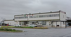 JR Hakodate-Main-Line・Rumoi-Main-Line Fukagawa Station building.jpg