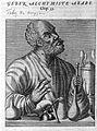 Jabir ibn Hayyan Geber, Arabian alchemist Wellcome L0005558.jpg