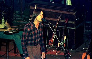 Jackson Browne - Browne during a 1976 concert in Hamburg, Germany