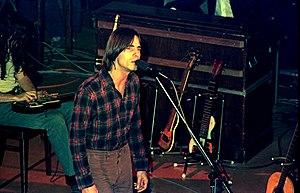 Jackson Browne - Browne during a 1976 concert in Hamburg, Germany