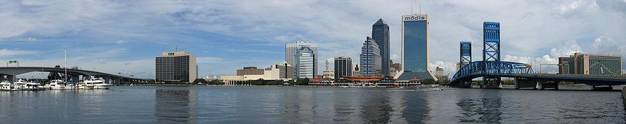 Jacksonville Skyline Panorama 4