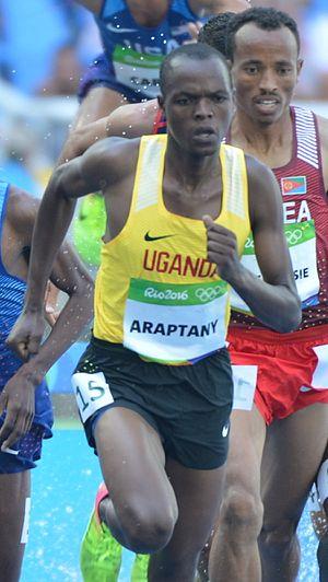 Jacob Araptany - Araptany at the 2016 Olympics