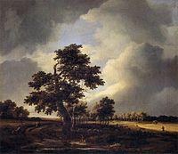 Jacob Isaacksz. van Ruisdael - Landscape with Shepherds and Peasants - WGA20501.jpg