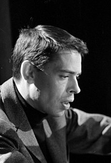 Jacques Brel on 1963.