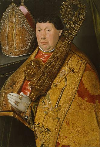 Jacob de Punder - Portrait of Nicholas à Spira