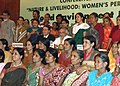 "Jairam Ramesh with the members of the delegation of Civil Society Seminar- ""Nature and Livelihoods Women's perspective"", in New Delhi on June 05, 2011.jpg"