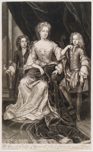 James Scott, Earl of Dalkeith - The Earl of Dalkeith, 1688.